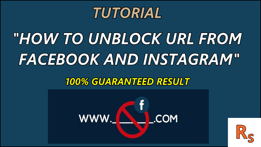 How to Unblock website Domain or URL from Facebook?
